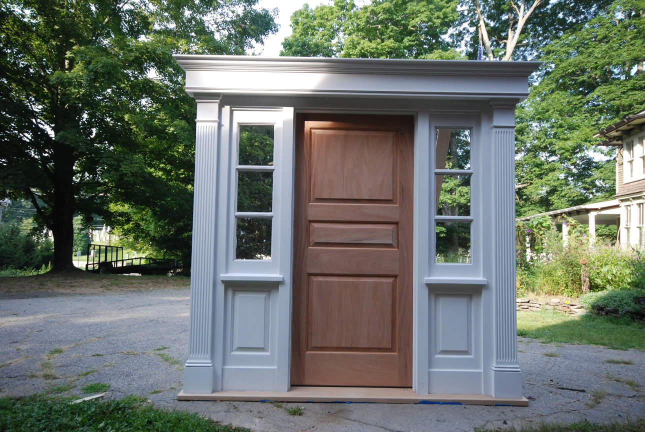 Front entry doors / windows | South Britain Millwork, LLC on front door with window that opens, exterior door vents, exterior back doors with windows, exterior doors with ventilation,